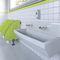 rubinetto per lavamani / per lavandino / da appoggio / in ottone cromato