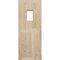 porta per esterni / battente / in legno / di sicurezza