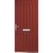 porta d'ingresso / battente / in alluminio / in composito