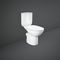 WC monoblocco / in ceramica / con cassetta a zaino / senza brida