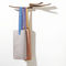 appendiabiti a muro / design originale / in legno / di Studio Lievore Altherr Molina