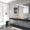 mobile da bagno con specchio