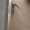 porta da interno / battente / in alluminio / in laminato