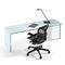 scrivania in legno / in vetro / in pelle / moderna
