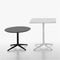 tavolo da bistrot moderno / in ghisa / in laminato / in HPL
