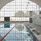 piscina interrata / in gres porcellanato / per hotel / pubblica