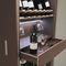 armadio per vini per uso residenziale / a pavimento / in legno