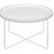 tavolo d'appoggio moderno / in ottone lucidato / in rame / in acciaio inossidabile lucido