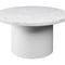 tavolo d'appoggio moderno / in acciaio / in marmo / in quercia
