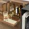 mobile bar moderno / in noce / in ottone / in rame