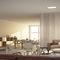 luce da incasso a soffitto / LED / quadrata / in policarbonato