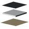 pannello acustico per soffitto / a muro / in tessuto / in lana di roccia