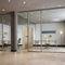 parete fissa / in alluminio / vetrata / da ufficio