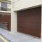 porta sezionale per garage / in corten / in alluminio / automatica