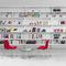 libreria a muro / moderna / per ufficio / contract