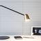 lampada da tavolo / moderna / in acciaio / in ottone