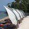ombrellone a sospensione / contract / in Sunbrella® / in alluminio anodizzato