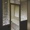 porta da interni / battente / in metallo / in vetro acrilico