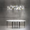 lampadario moderno / in porcellana di Limoges / LED / fatto a mano