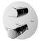 miscelatore da doccia / da incasso / in metallo cromato / termostatico