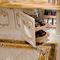 banco reception in legno laccato
