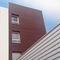 rivestimento di facciata in pannelli / in HPL / liscio / perforato