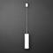 lampada a sospensione / moderna / in metallo / in vetro acrilico