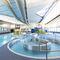piscina sistema completo / interrata / in acciaio inox / contract