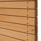 rivestimento di facciata in legno massiccio