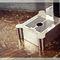 fontana da giardino / in acciaio inox