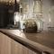 credenza moderna / in legno laccato / con ripiano