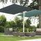 ombrellone per uso contract / in tessuto / in alluminio / orientabile
