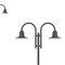 lampione urbano / moderno / in alluminio / in acciaio galvanizzato