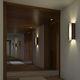 applique moderna / in legno / polimerica / LED