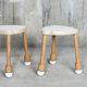 sgabello moderno / in legno / impilabile