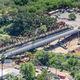 ponte reticolare / in acciaio galvanizzato / prefabbricato / modulare