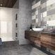 piastrella da bagno / da parete / in maiolica / rettangolare