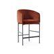 sedia alta moderna / imbottita / con braccioli / con rivestimento rimovibile