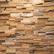 rivestimento murale in teak / in legno massiccio / per uso residenziale / per il settore terziario