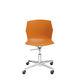 sedia da ufficio moderna / con rotelle / con base a stella / girevole
