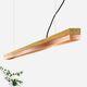 lampada a sospensione / in rame / in rovere / design minimalista