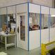 parete amovibile / modulare / in legno / vetrata