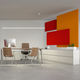 pannello acustico per soffitto / in tessuto / in metallo / decorativo