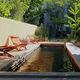 piscina interrata / in legno / su misura / con filtrazione biologica