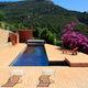 piscina in pannelli / interrata / in legno / da esterno