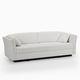 divano letto / moderno / in tessuto / per uso contract