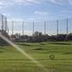 recinzione per campo sportivo / in rete metallica / in polietilene / resistente agli UV