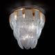 plafoniera classica / in vetro di Murano / LED / a incandescenza