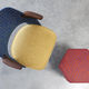 tessuto da tappezzeria / motivo geometrico / in cotone / in lana