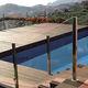 protezione per piscina automatica / di sicurezza / a barre / sommersa